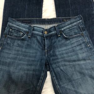 Citizens of humanity sz 28 low waist boot cut jean
